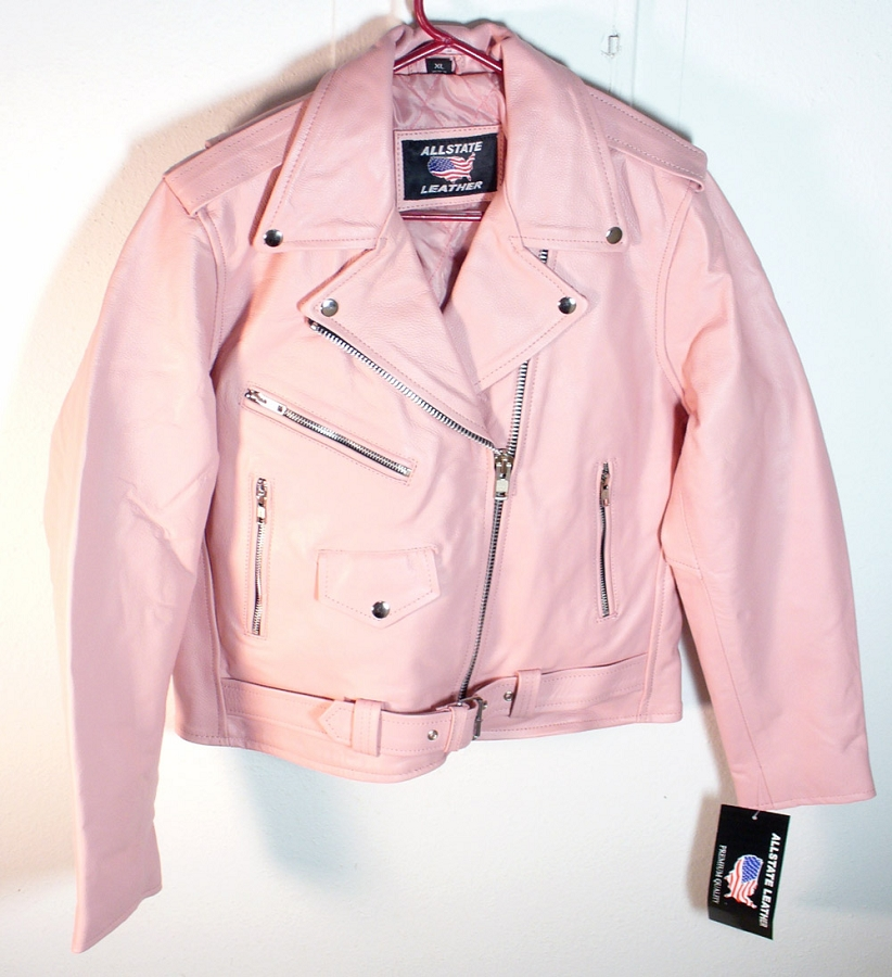Most pink motorcycle jackets are available in the sub $ price range so you're bound to find something you like at all price points. All of today's top brands have a pink jacket, or several, in their arsenal and it's just a matter of picking the style of jacket that you want and finding the brand that carries at a price you want.