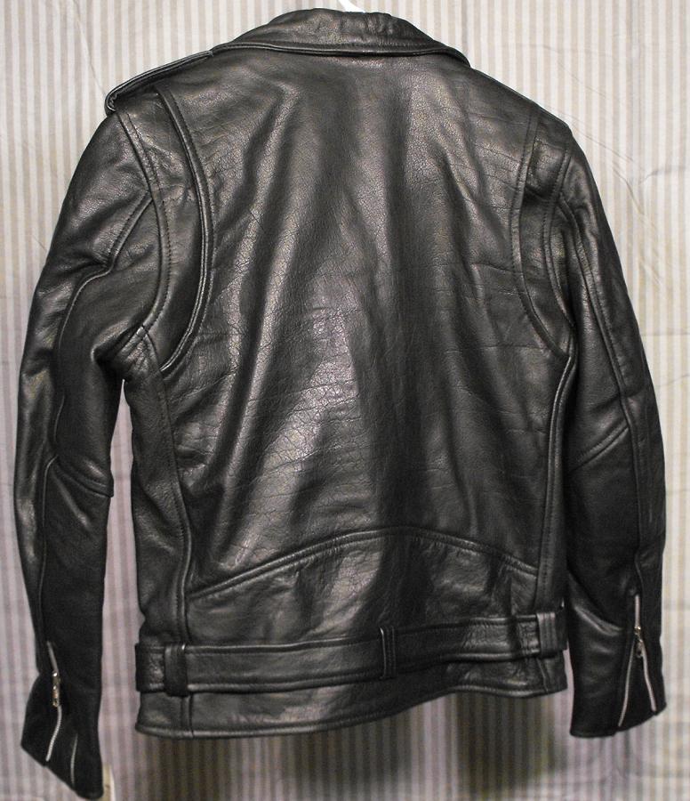 Emma Stone Ladies Black Leather Jacket