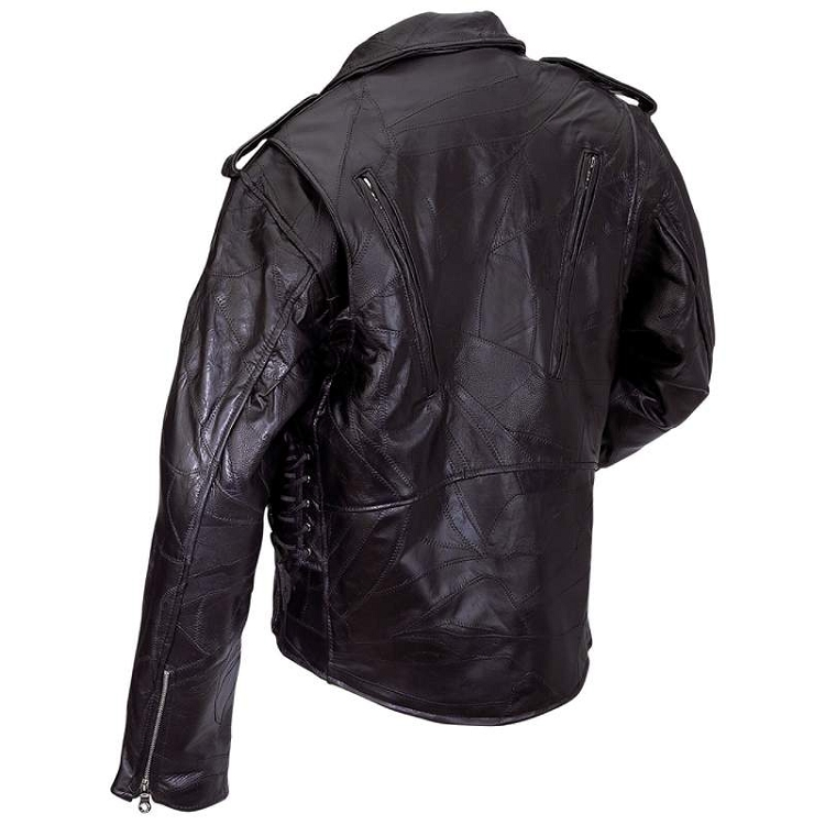 Buffalo leather jacket