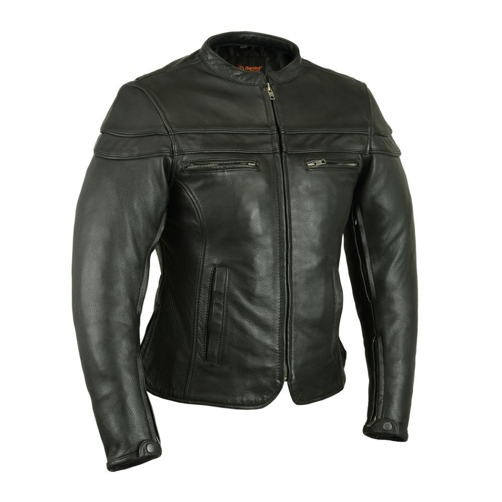 Naked leather jacket