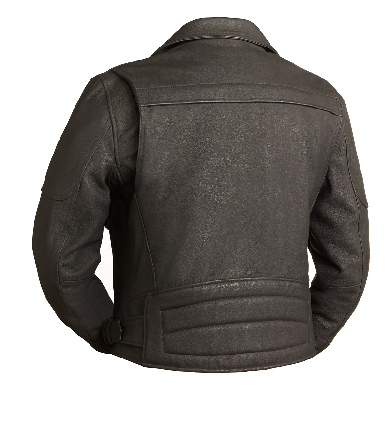 Heavy leather jackets for men