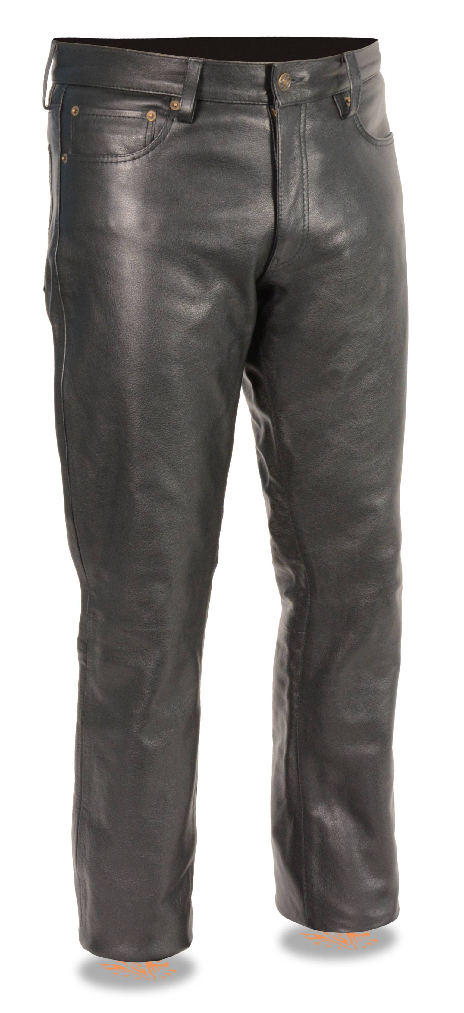 We offer leather motorcycle pants, reinforced, breathable jeans for men and women, insulated pants, and more. Let J&P Cycles complete your motorcycle wardrobe with our selection of motorcycle t-shirts, jackets, boots and more.