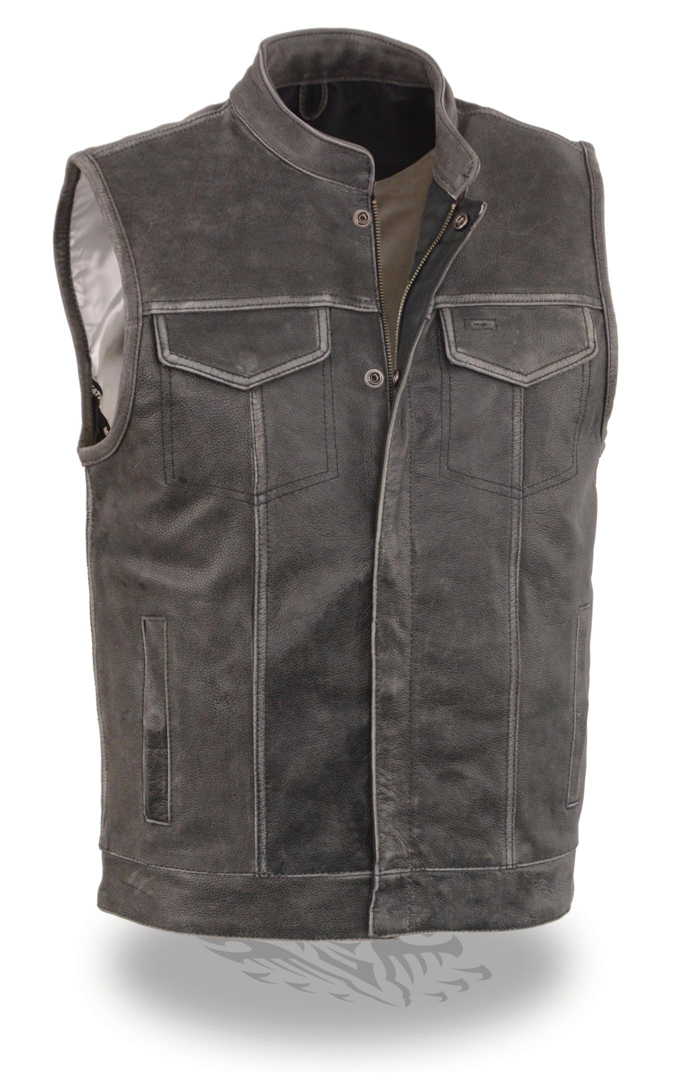 Motorcycle Vests For Additional Protection. When you are looking for a motorcycle Vests don't just settle for an average Leather vest or Denim vest. At Motorcycle house expect more from us and will deliver for your riding needs. Whether you are looking for vented Biker vests for summer or non-vented motorcycle vest. With over a hundred padded vests to protect you in case of an accident you.