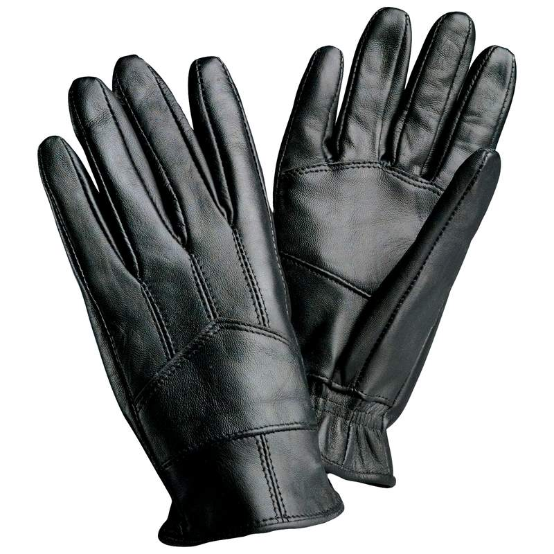 Black Leather Gloves For Men Mens Black Leather Driving