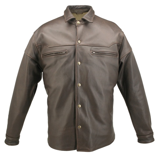 Leather shirts for men give sexy and unique shopnow-bqimqrqk.tkr Baba offers a wide selection of handsome and unique leather shirts. The variety of shirts available is a testament to just how interchangeable these leather garments are, and by browsing the selection that is offered, you can see it for yourself.
