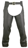 Men's Seamless Leather Chaps - Choose a Color