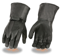 Mens Deer Skin Leather Thermal Lined Gloves