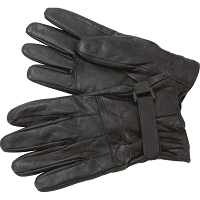 Mens Solid Genuine Lambskin Lined Leather Driving Gloves