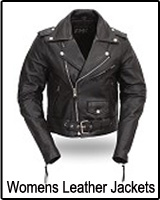 Womens ladies leather jackets